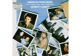 Bennett Lerner - American Piano Music Vol.1 - (CD)