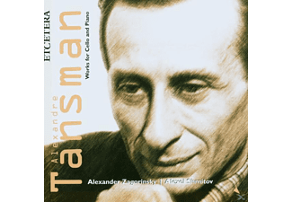 Alexander Zagorinsky - Works For Cello And Piano - (CD)