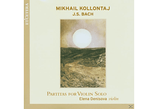 Elena Denisova - Partitas For Violin Solo - (CD)