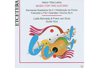 Lydia Kennedy, Frans Van Gurp - Music For Two Guitars - (CD)