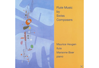 Maurice Heugen - Flute Music By Swiss Composers - (CD)