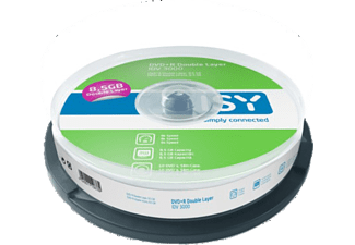 ISY DVD+R Double Layer 8.5 GB (10 τεμ.) - IDV 3000