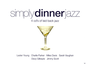 VARIOUS - Simply Dinner Jazz [CD]