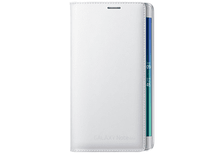 SAMSUNG Flip Wallet Note 4 Edge Wit