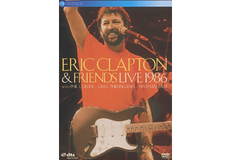 Eric Clapton, Phil Collins, Greg Phillinganes, Nathan East - Live 1986 - (DVD)