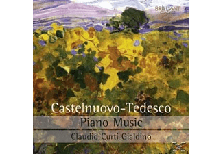 Claudio Curti  Gialdino - Piano Music [CD]