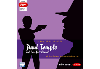 Paul Temple Und Der Fall Conra - 1 MP3-CD - Krimi/Thriller