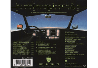 Orlando And Trance Johnson - Turn The Music On - (CD)