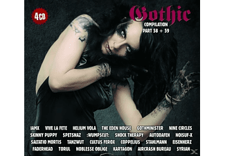 VARIOUS - Gothic Compilation 58+59 - (CD)
