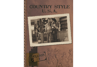 VARIOUS - Country Style Usa, Season 4 - (DVD)