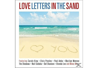 VARIOUS - Love Letters In The Sand - (CD)