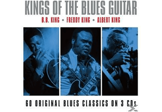 B.B. King, Albert King, Freddy King - Kings Of Blues Guitar - (CD)
