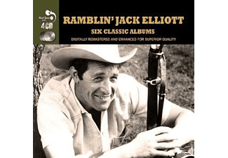 Ramblin' Jack Elliott - 6 Classic Albums [CD]
