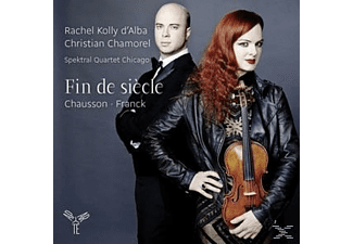 Rachel Kolly D'alba, Christian Chamorel, Spektral Quartet Chicago - Fin De Siecle - (CD)