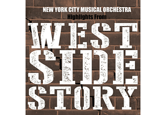 New York City Musical Orchestra - Highlights From West Side Story - (CD)