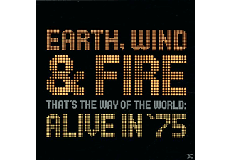 Earth, Wind & Fire - That's The Way Of The World: Alive In '75 - (CD)