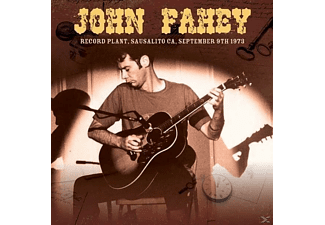 John Fahey - Record Plant, Sausalito Ca, Sept.9th 1973 [CD]