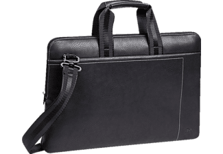 "RIVACASE 8930 (PU) slim Laptop bag 15.6"" Black"