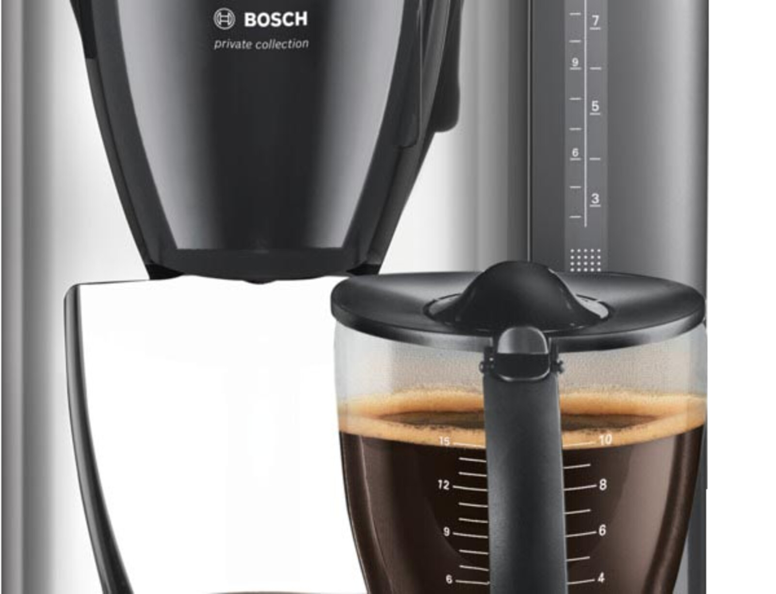 bosch tka6643 kaffeemaschine schwarz ebay. Black Bedroom Furniture Sets. Home Design Ideas