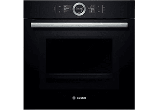 bosch hmg 6764 b 1 serie 8 backofen mit mikrowelle mediamarkt. Black Bedroom Furniture Sets. Home Design Ideas