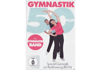 Gymnastik 50 Plus inkl. Gymnastikband - (DVD)