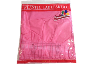 ROLL-UP Party Dreams Plastik Masa Eteği Pembe TM-DGR-0194