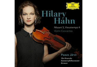 Hilary Hahn - Violinkonzerte: Mozart 5 & Vieuxtemps  4 - (CD)
