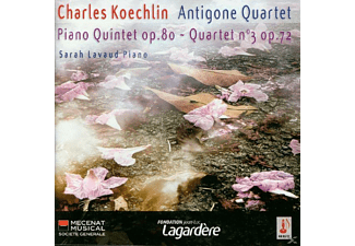 Antigone Quartet - QUINTET WITH PIANO OP.80/STRING QUA - (CD)