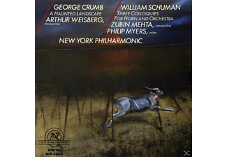 Mehta, Nypo, Weisberg, P. Myers, New York Philharmonic - LANDSCAPE/COLLOQUIES F.HORN - (CD)