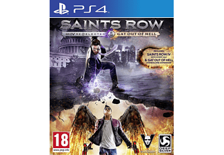 Saints Row IV: Re-Elected & Gat Out Of Hell (PlayStation 4)