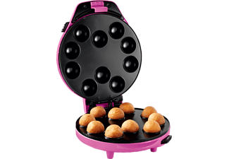 PRINCESS 132700 Magic Bakery (Waffeleisen, 1 kW, Pink/Schwarz)
