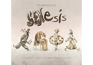 VARIOUS - Many Faces Of Genesis [CD]