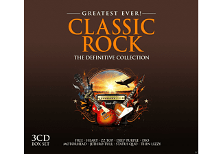 VARIOUS - Classic Rock-Greatest Ever - (CD)