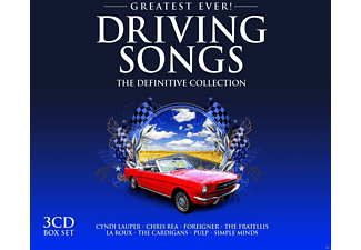 VARIOUS - Driving Songs-Greatest Ever - (CD)