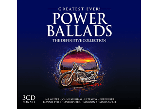 VARIOUS - Power Ballads-Greatest Ever [CD]