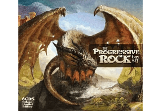 VARIOUS - Progressive Rock Box - (CD)