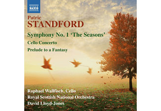 Raphael Wallfisch, Royal Scottisch National Orchestra - Standford: Symphony No. 1, Cello Concerto & Prelude To A Fantasy - (CD)