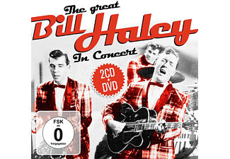 Bill Haley - The Great Bill Haley In Concert - (CD + DVD Video)