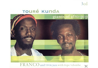 Franco Tpok J Toure Kunda - Giants Of Afro-Pop (3 Cd's For1) - (CD)