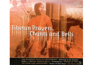 VARIOUS - Tibetan Prayers,Chants & Bells - (CD)
