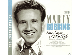 Marty Robbins - The Legend Lives On-The Story Of - (CD)