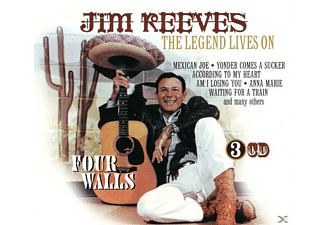 Jim Reeves - Legend Lives On, The - (CD)