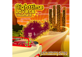 VARIOUS - Nighttime Lovers Vol.8 - (CD)