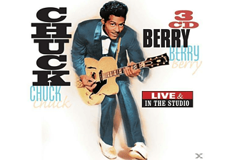 Chuck Berry - Live & In The Studio - (CD)