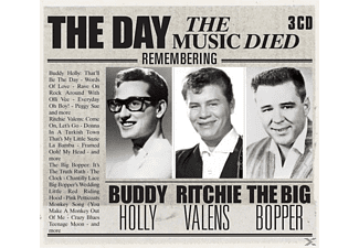 HOLLY,BUDDY/VALENS,RITCHIE/THE - The Day The Music Died [CD]