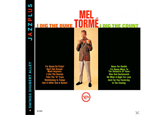 Mel Tormé - I Dig The Duke, I Dig The Count + Swings Shubert Alley [CD]