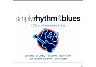 VARIOUS - Simply Rhythm + Blues - (CD)