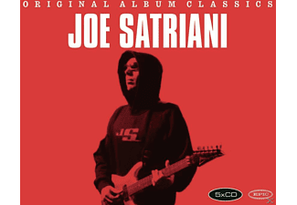 Joe Satriani - ORIGINAL ALBUM CLASSICS - (CD)