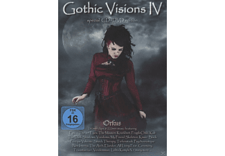 VARIOUS - GOTHIC VISIONS 4 [DVD + CD]