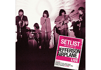 Jefferson Airplane - SETLIST - THE VERY BEST OF JEFFERSON AIRPLANE LIVE [CD]